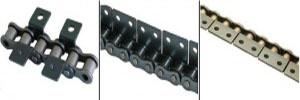 Роликовые цепи со специальными пластинами